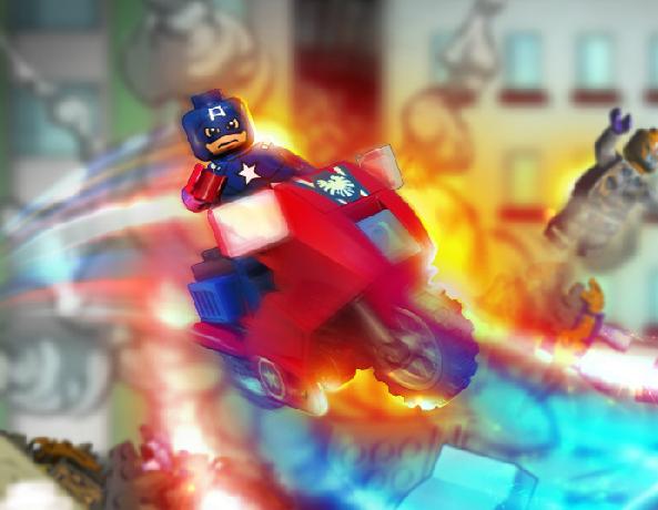 Лего: Капитан Америка