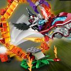 Лего Чима: Огненные препятствия