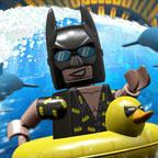 Лего Фильм: Бэтмен катается на дельфине