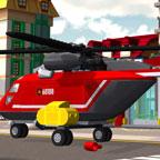 Лего Пожарный вертолет
