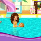 Лего френдс - игра в бассейне