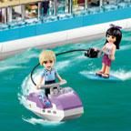 Лего Френдс — водные лыжи