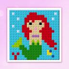 Лего Принцессы Дисней - Мозаика