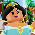 Лего Принцессы диснея - одевалка
