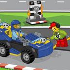 Лего Джуниор — Заправь гонщика