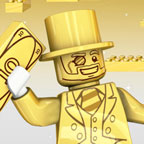 Лего Минифигурки: Мистер Голд