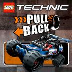 Лего Техник — тянуть назад
