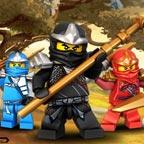 Лего ниндзя го приключения в лесу
