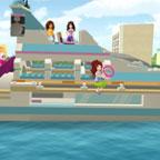 Лего френдс на яхте